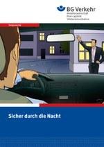 """Taxi-Comic """"Sicher durch die Nacht"""""""