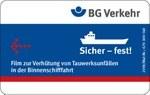 Sicher – fest! | Film Binnenschifffahrt (USB-Stick)