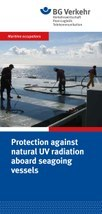 Protection against natural UV radiation aboard seagoing vessels