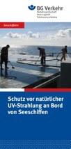 Schutz vor natürlicher UV-Strahlung an Bord von Seeschiffen