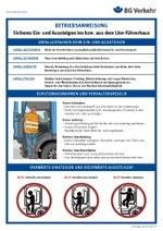 Betriebsanweisung Lkw: Sicheres Ein- und Aussteigen