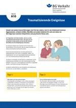 Unterweisungskarte A10: Traumatisierende Ereignisse