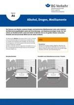 Unterweisungskarte A4: Alkohol, Drogen, Medikamente