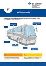 Unterweisungskarte O1: Kurzcheck vor der Abfahrt (Omnibus)