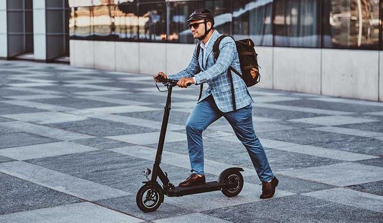 E-Scooter im betrieblichen Einsatz