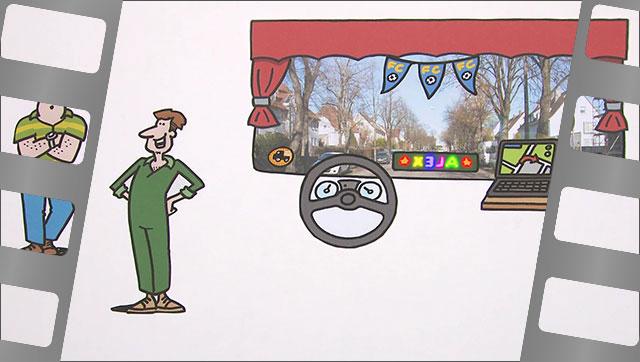 Fahren mit Durchblick