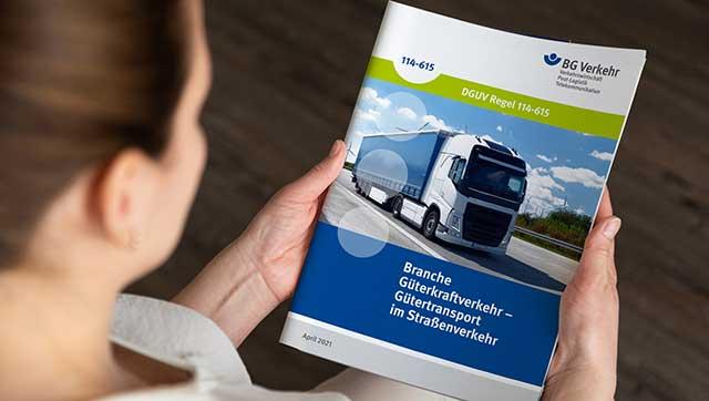Aktuell Teaser Branchenregel Güterkraftverkehr