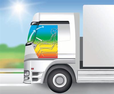 Luftführung und Temperaturverteilung im Kühlbetrieb