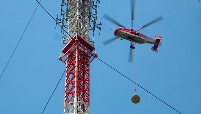 Hubschrauber mit Außenlast