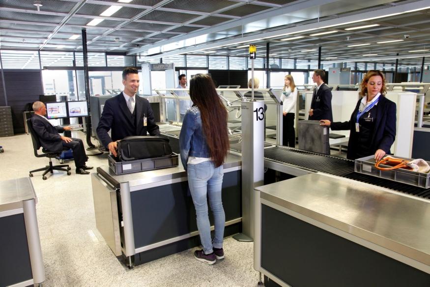 Luftfahrt Flughafen Terminal Content