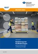 """Information """"Handverzug von Flurförderzeugen"""""""