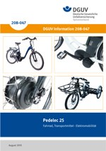 "Information ""Pedelec 25"""