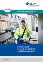 """Information """"Sicherheit und Gesundheitsschutz bei der Zeitungszustellung"""""""