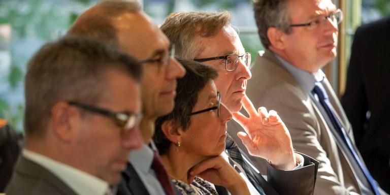 Teilnehmer auf der Branchenkonferenz KEP 2018