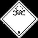 Gefahrzettel giftige Stoffe