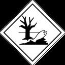 Gefahrzettel Zusatz umweltgefährdend