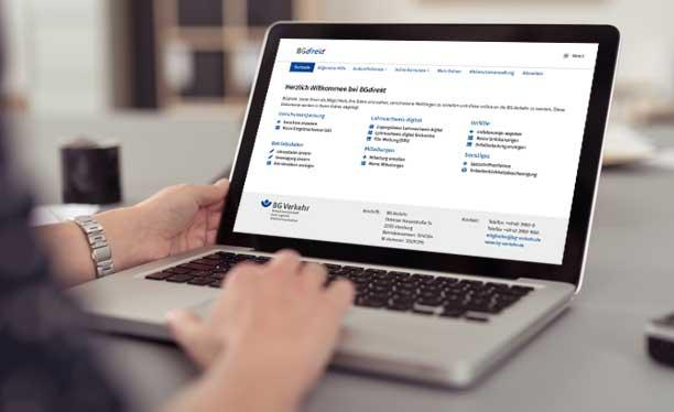 Online-Service BGdirekt