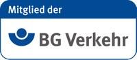 """Logo """"Mitglied der BG Verkehr"""""""