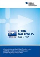 Titelseite Broschüre zum UV-Meldeverfahren