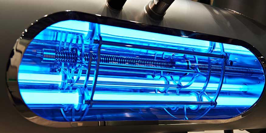 UV-Installation für die Wasserreinigung