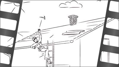 Szenenbild aus Erklärfilm: Der Arbeitsunfall – was ist das?